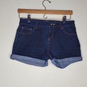 Justice Dark Wash Jean Shorts
